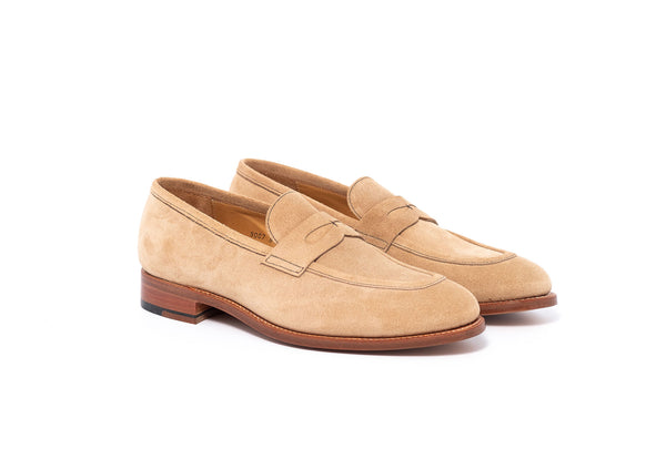 Goodyear Beige Suede Loafer