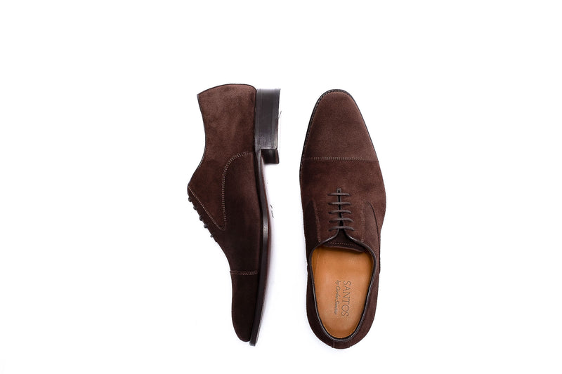 Goodyear Brown Suede Oxford Shoe