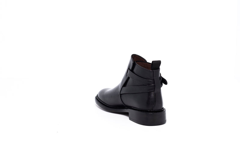 Goodyear Black Ankle Boot