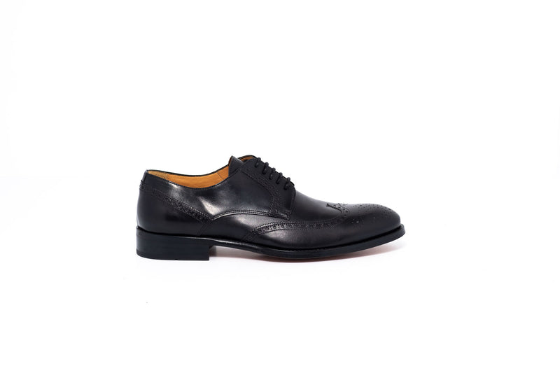 Delor Black Derby Lace Up