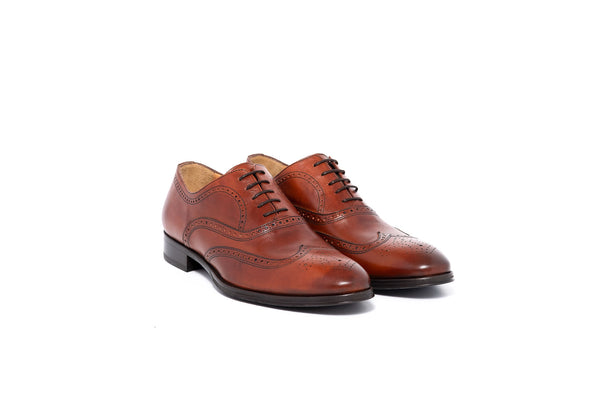 Lawe Brown Oxford Lace Up