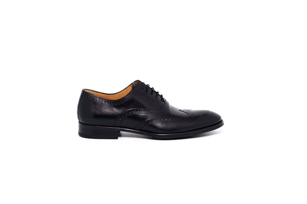 Lawe Black Oxford Lace Up
