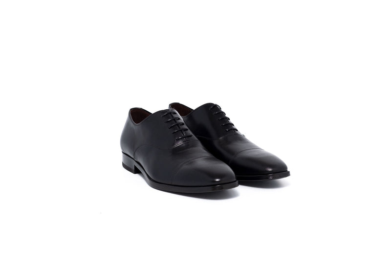Bur Black Oxford Lace Up