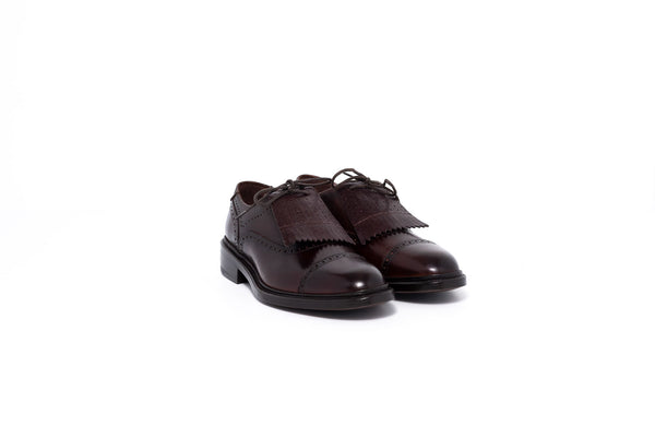 Goodyear Brown Oxford Kiltie Shoe