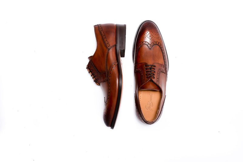 Delor Brown Derby Lace Up