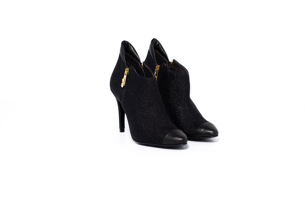 Cristina Elthon Black Boot