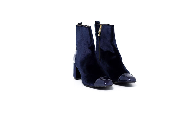 Lilia Navy Boot