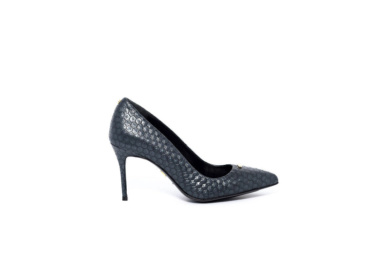 Gunmetal Black Pump