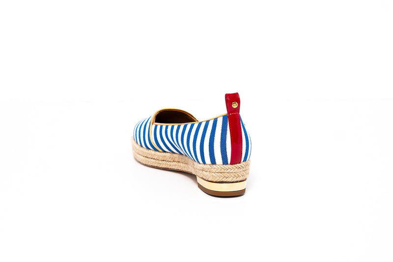 Sailor Flat pump with Rope Detail