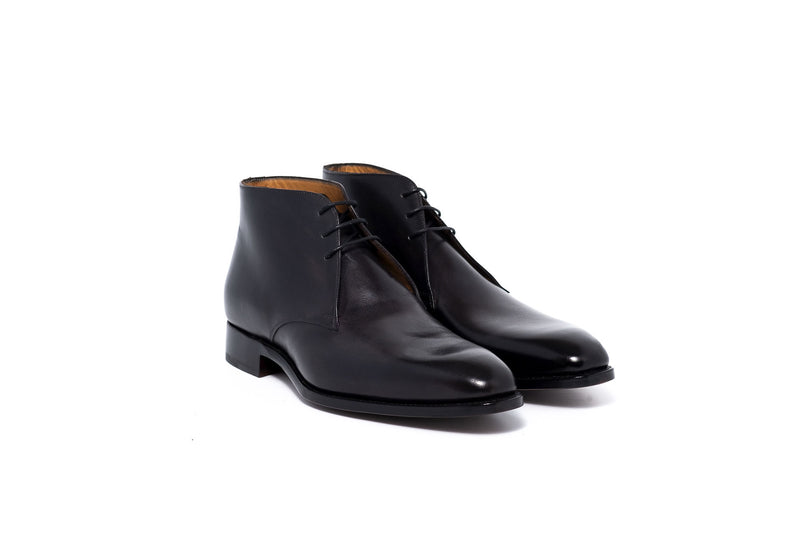 Goodyear Black Derby Dress Boot