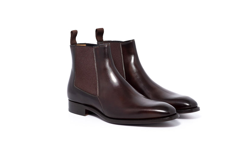 Goodyear Brown Chelsea Dress Boot