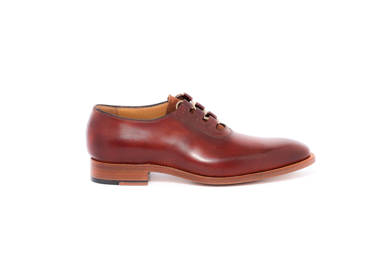 Goodyear Brown Derby Leather and Suede Tongue Lace up