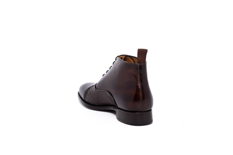 Goodyear Brown Leather Oxford Dress Boot