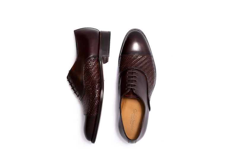 Goodyear Brown Leather Oxford Lace up