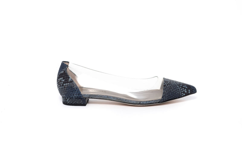 Piton Vero and Transparent Crystal Flat Pump