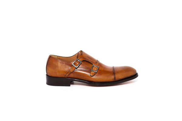 Rest Tan Double Monk Strap