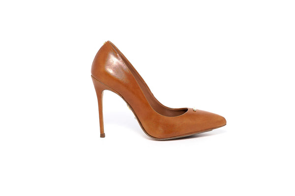 Tan Leather Pump
