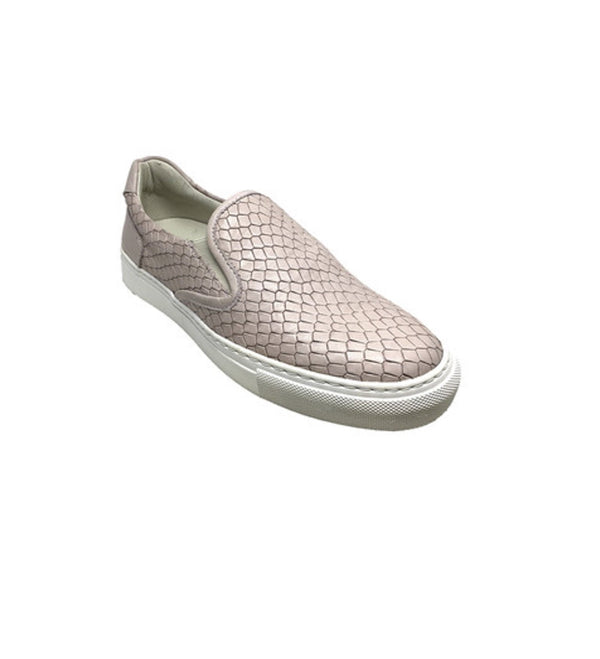 Lamu Salmon Leather Women Slip On Sneaker - Womens Sneakers