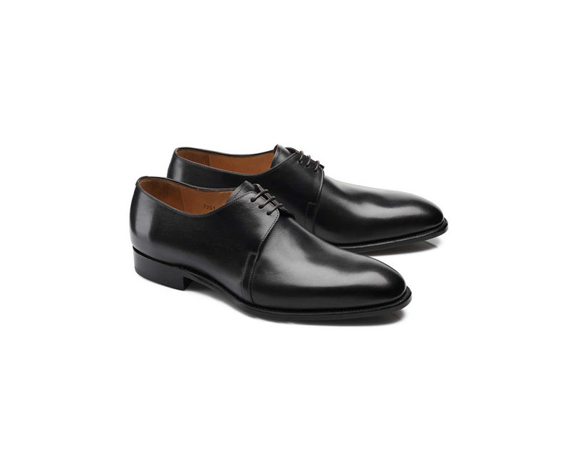 Black Derby Shoe