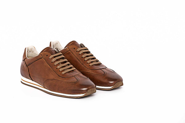 Brown Lace Up Sneaker