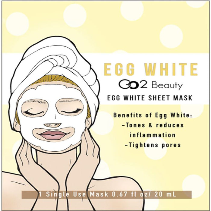 CB Egg White Sheet Mask