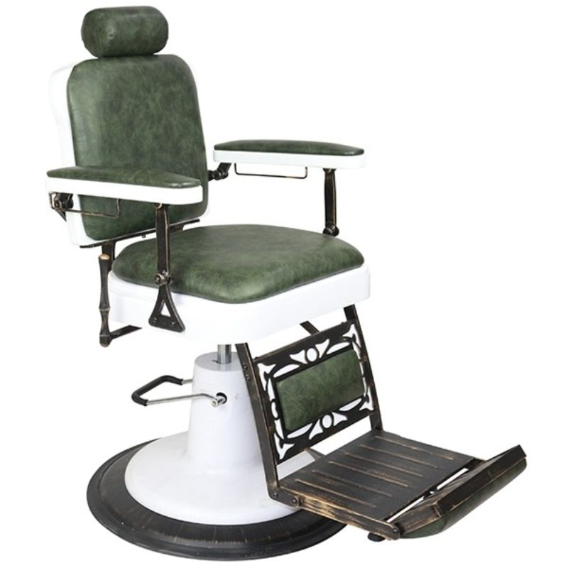 Chicago Barber Chair Green (P)