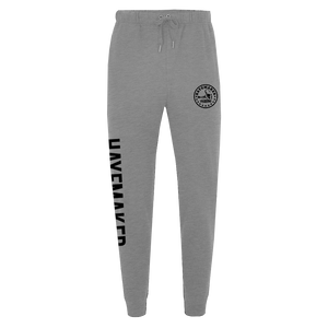 Vintage Range Black on Grey Premium Joggers