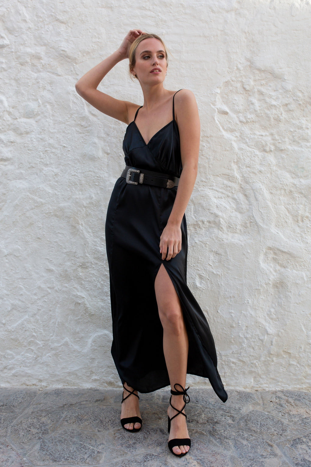 Black Angel Slip Dress - Audace Manifesto