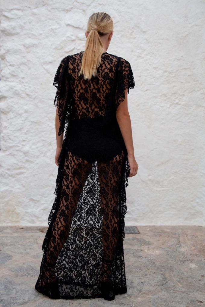 Flamenco Maxi Dress - Audace Manifesto