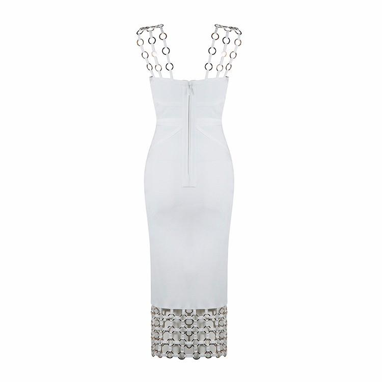 Medellin Maze Hollow-Out Bodycon Dress, Dresses - Wanderlust Coutures
