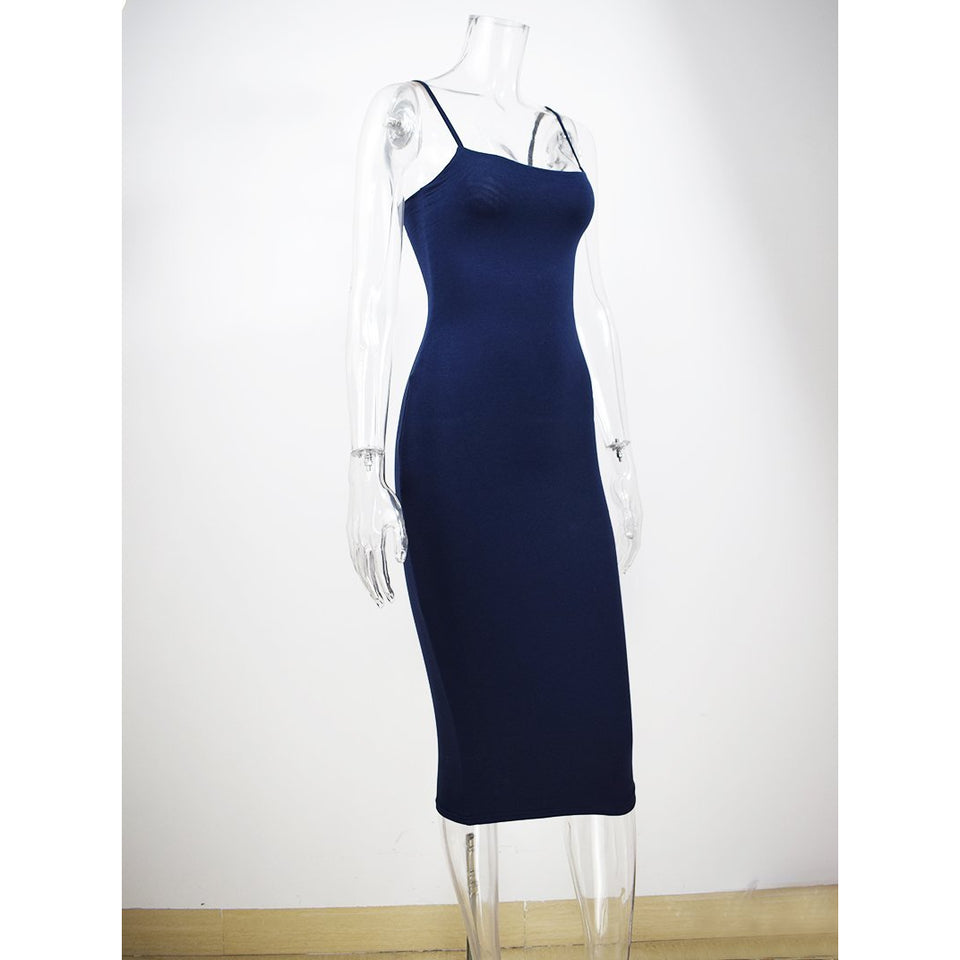 Jersey Flux Bodycon Dress, Dresses - Wanderlust Coutures