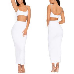 Nicoya Tease Top and Maxi Skirt Set, Sets - Wanderlust Coutures