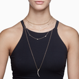 ECLIPSE - Diamond Pave Loop Multi-Chain Necklace