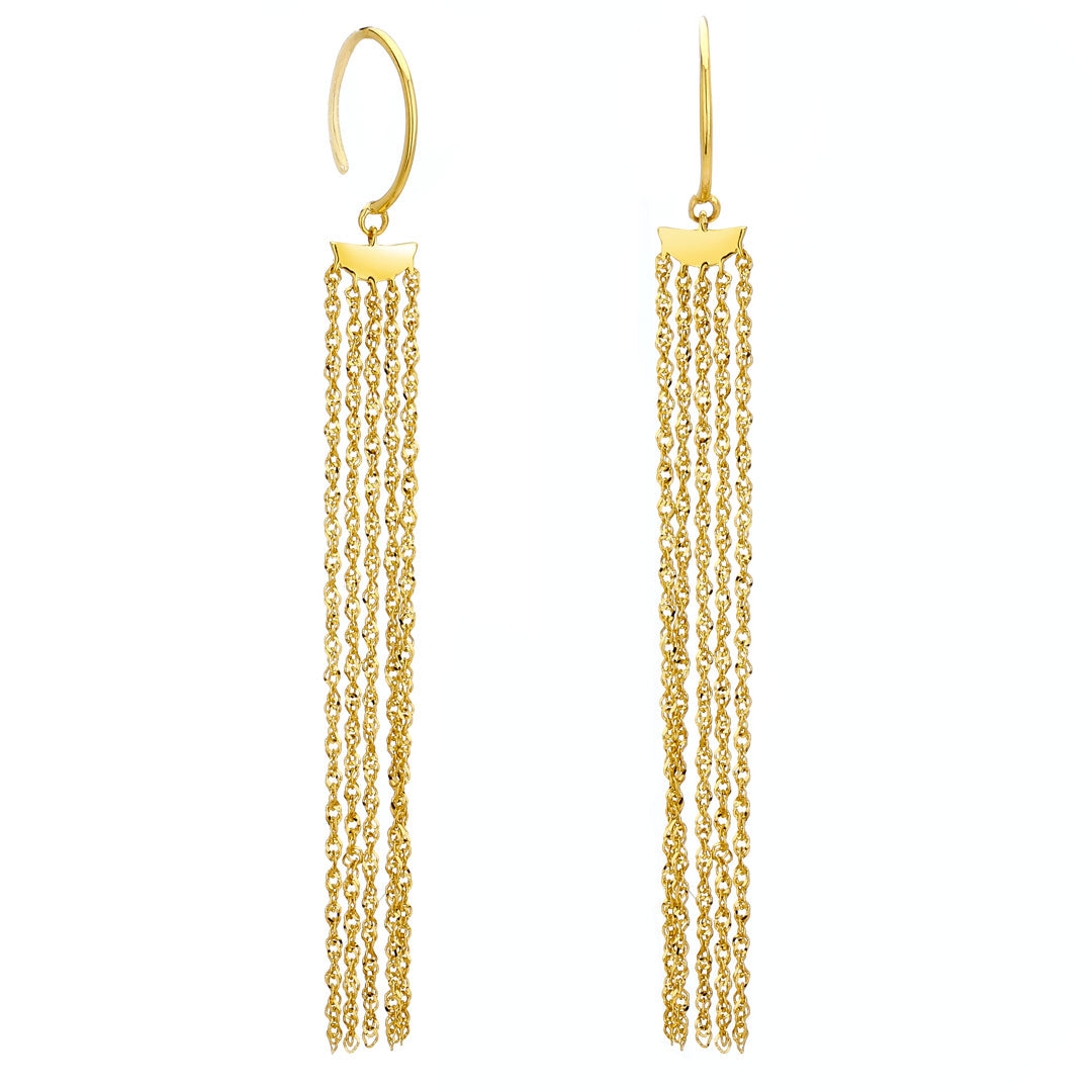 PHASE - Fringe Earrings