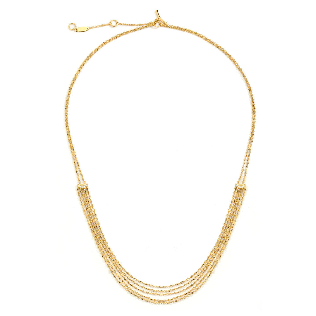 PHASE - Short Sway Frontal Necklace