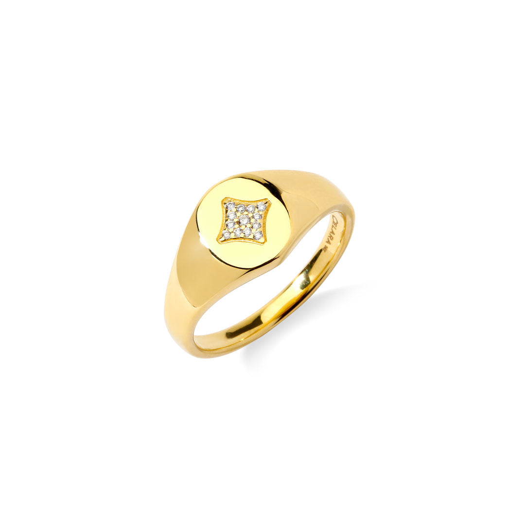 AURORA - Star Signet Ring
