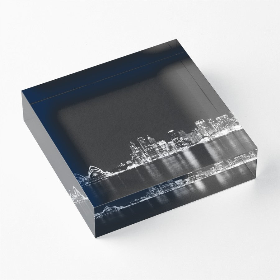 Skyline Acrylic Block