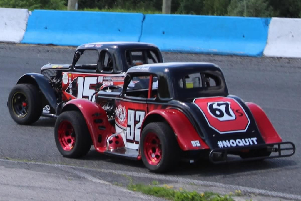 ONTARIO LEGENDS SERIES MAKES A SATURDAY NIGHT DATE AT PETERBOROUGH SPEEDWAY
