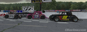Jo Lawrence takes Stafford in the KOD Ontario Legends eSeries