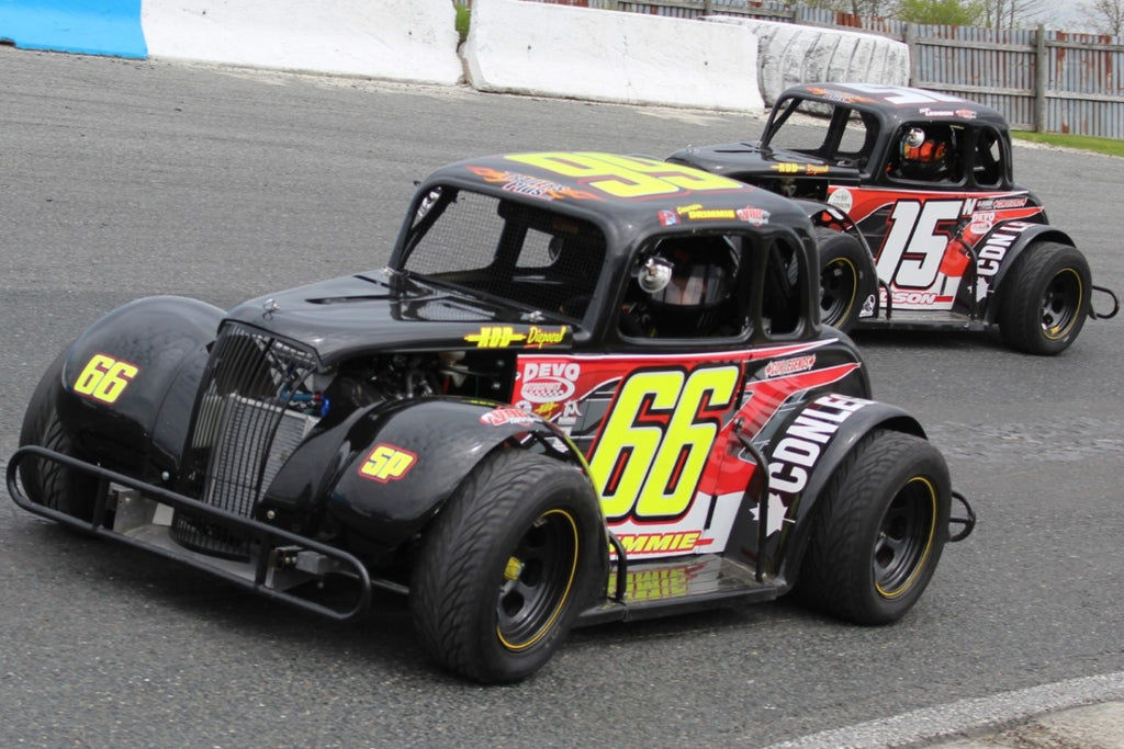 ONTARIO LEGENDS' NATIONAL QUALIFIER TAKES THE PETERBOROUGH SPEEDWAY STAGE