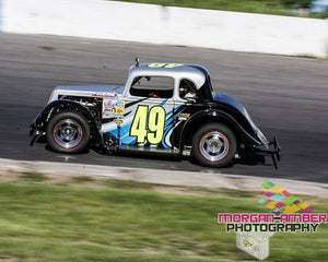 Miles Tyson Hoping to Break into Ontario Legends Series Victory Lane