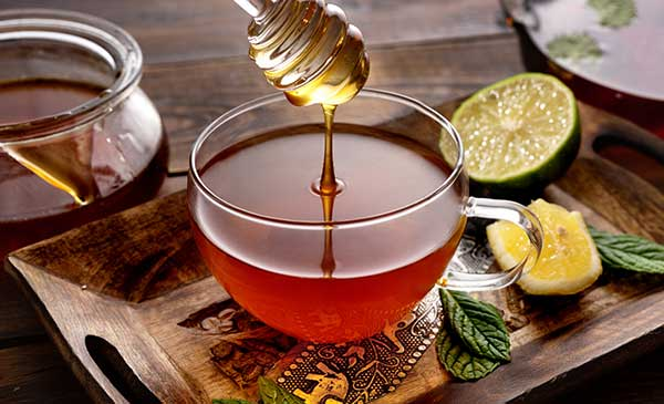 tea and honey combinations