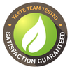 our taste team tested and satisfaction guaranteed by tealeavz