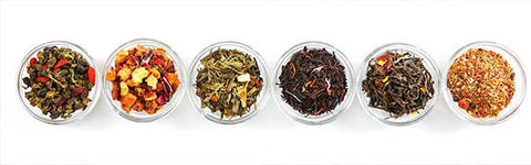 Comparing acidity in different types of loose leaf tea