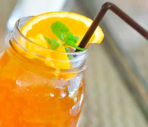 Mango Cold Brew Iced Tea