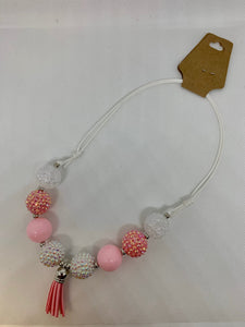 Multi-Color Bubblegum Necklaces