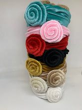 Load image into Gallery viewer, Velvet Rose Headbands