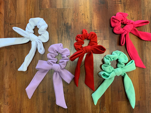 Jumbo Bow Scrunchies - 50% off