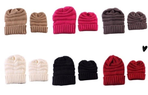 Mommy and Me Beanie Sets - 50% Off