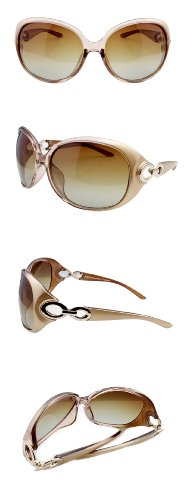 Duco Women's Classic Oversized Polarized Sunglasses